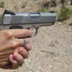 gun carrying 1911 pistol
