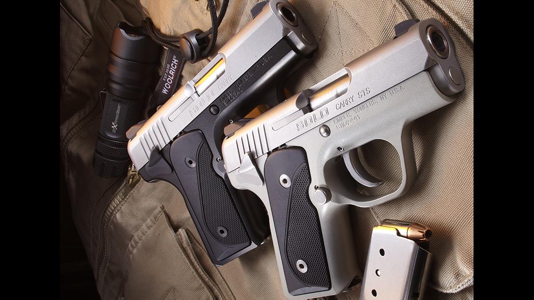 gun carrying kimber pistols