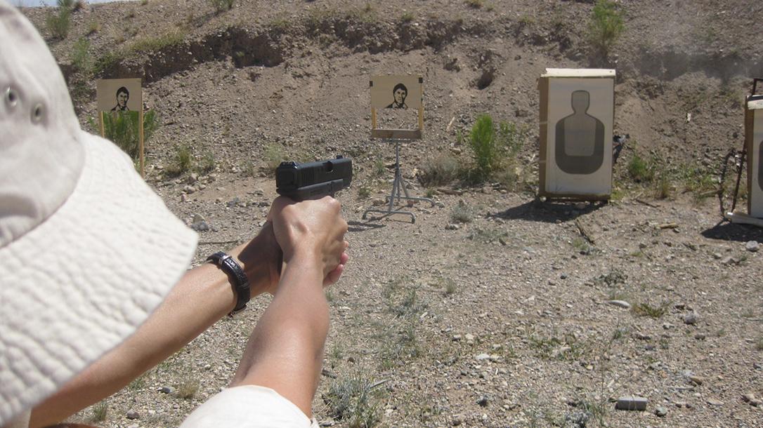 gun carrying target shooting