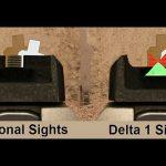 Gun Pro Delta 1 Sight comparison