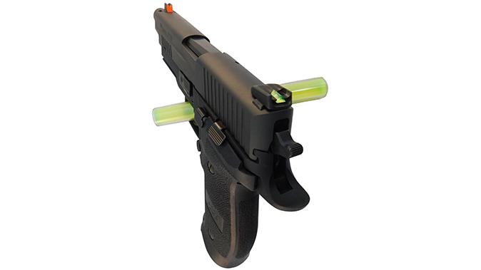 Gun Pro Delta 1 Sight sig sauer pistol left tangle