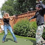 home defense plan training backyard