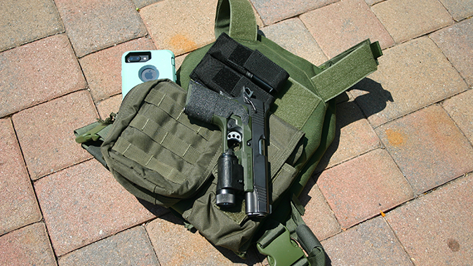 home defense plan tactical vest