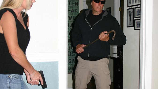 home defense plan handguns