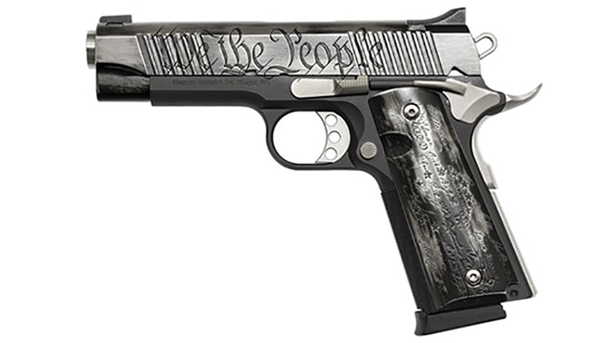 magnum research we the people desert eagle 1911 pistol left profile