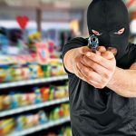 nypd officer shooting masked robber