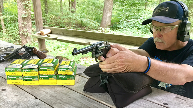 remington performance wheelgun ammo test