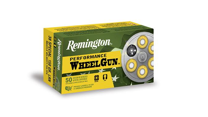 remington performance wheelgun ammo closeup