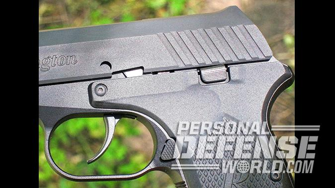 Ruger LCP remington rm380 pistol controls