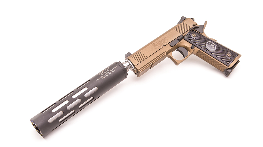 Republic Forge Monolith Stryker pistol left angle