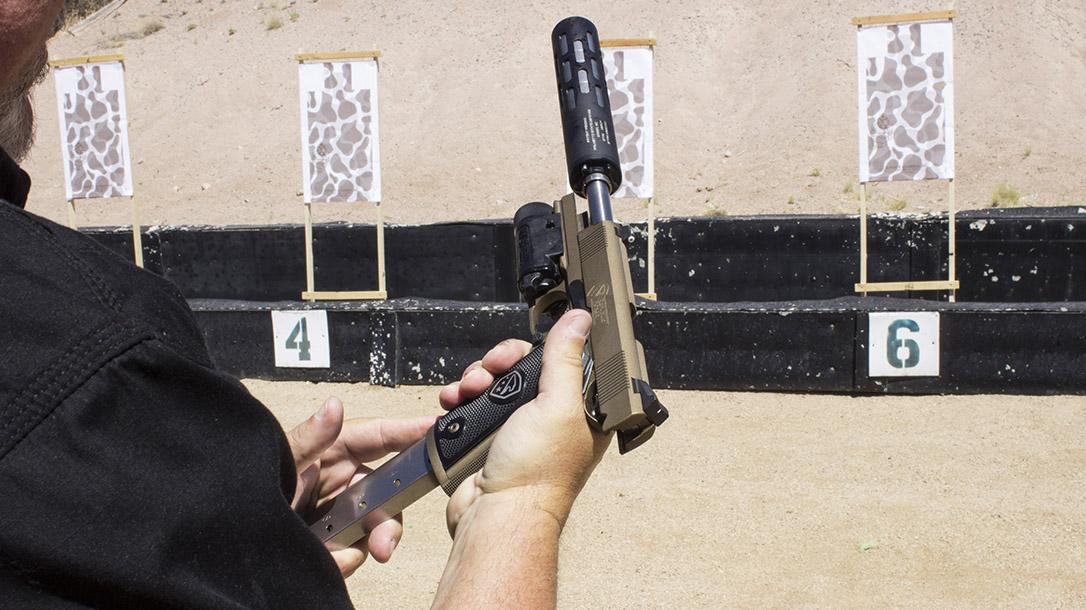Republic Forge Monolith Stryker pistol loading