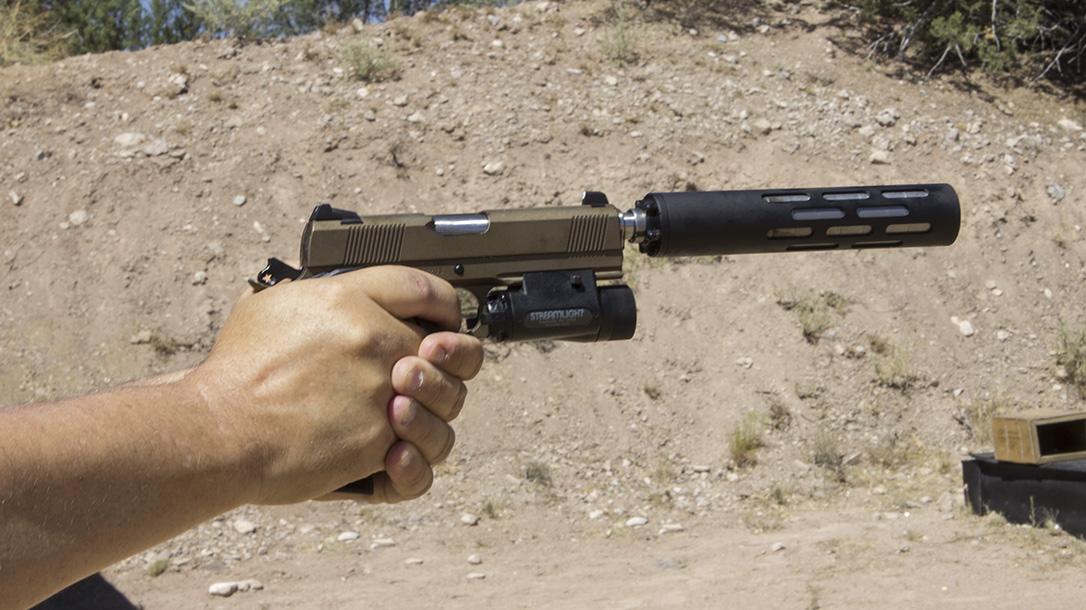 Republic Forge Monolith Stryker pistol shooting