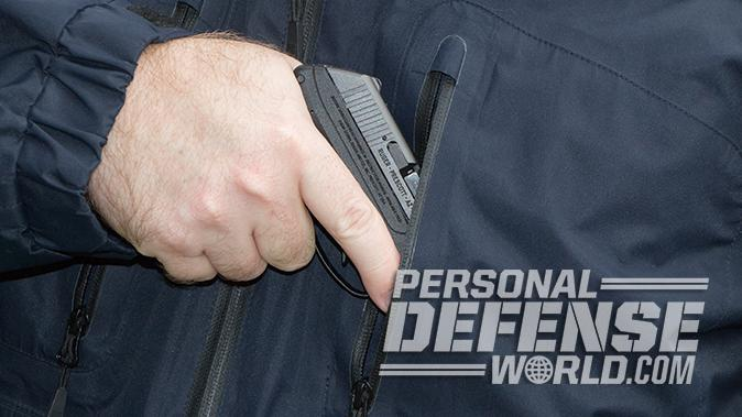 Ruger LCP pistol pocket carry
