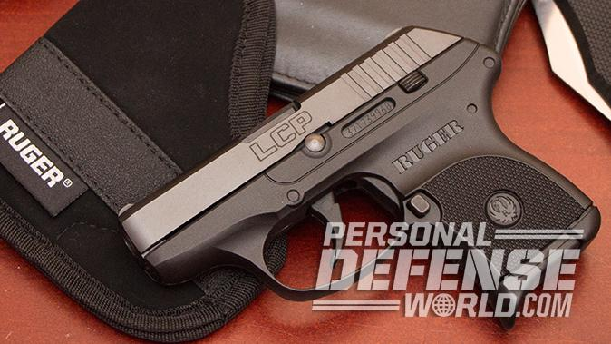 Ruger LCP pistol left profile