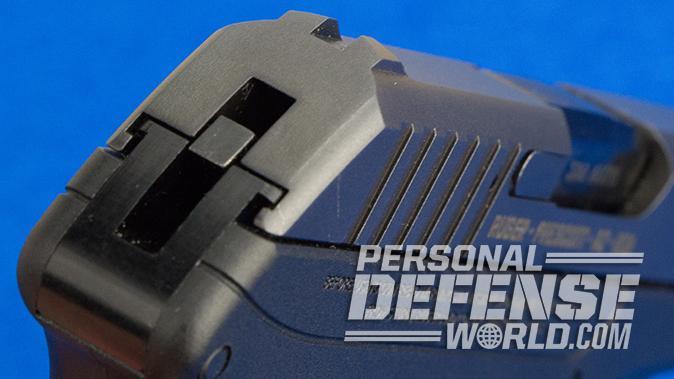 Ruger LCP pistol rear sight