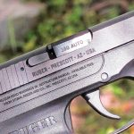 Ruger LCP pistol controls