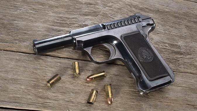 savage 1907 pistol beauty shot