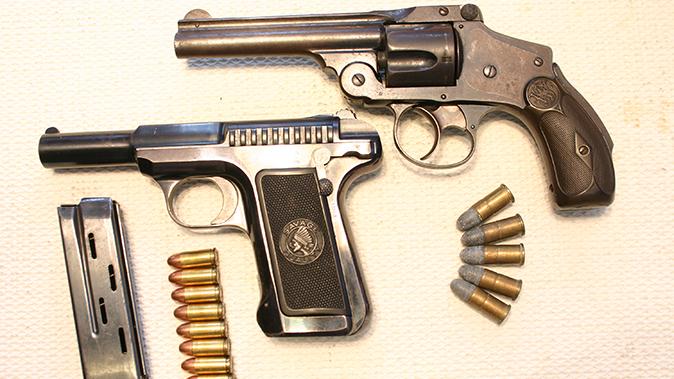 savage 1907 pistol comparison