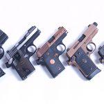 sig sauer p238 p938 p290rs pistol lineup