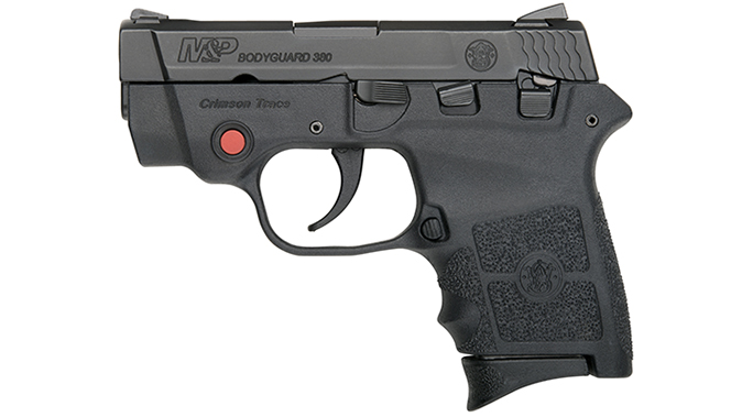 Ruger LCP smith wesson bodyguard 380 pistol left profile
