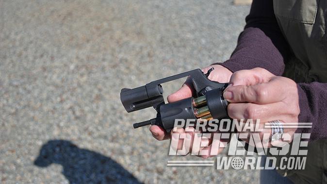 Taurus Model 85 Convertible revolver loading