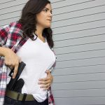carrying concealed holster draw