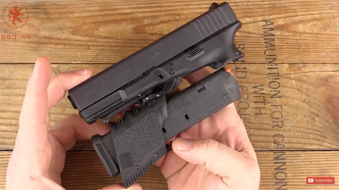 full conceal m3d folding glock pistol