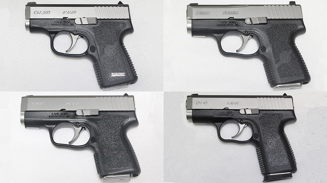 kahr pistol comparison pm9