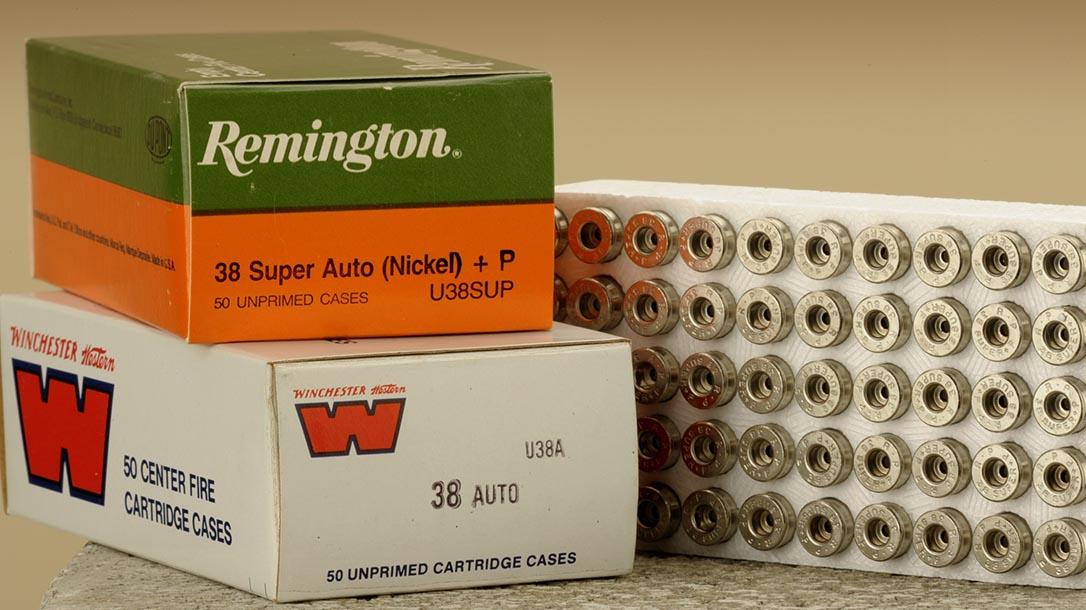 38 super handloading components remington winchester