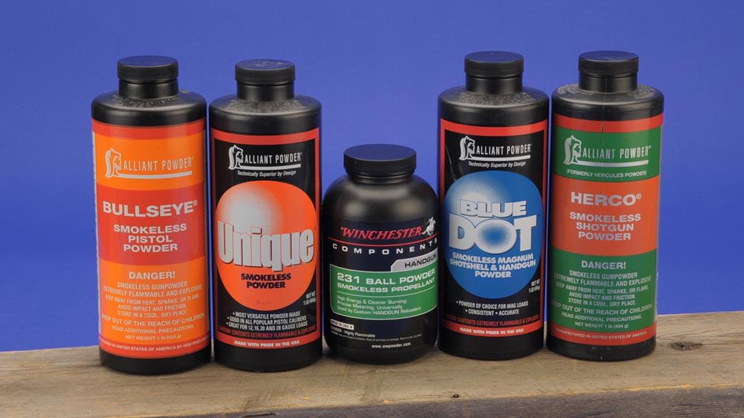 38 super handloading powders