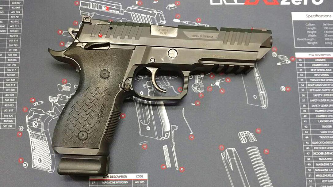 arex rex pistol right profile
