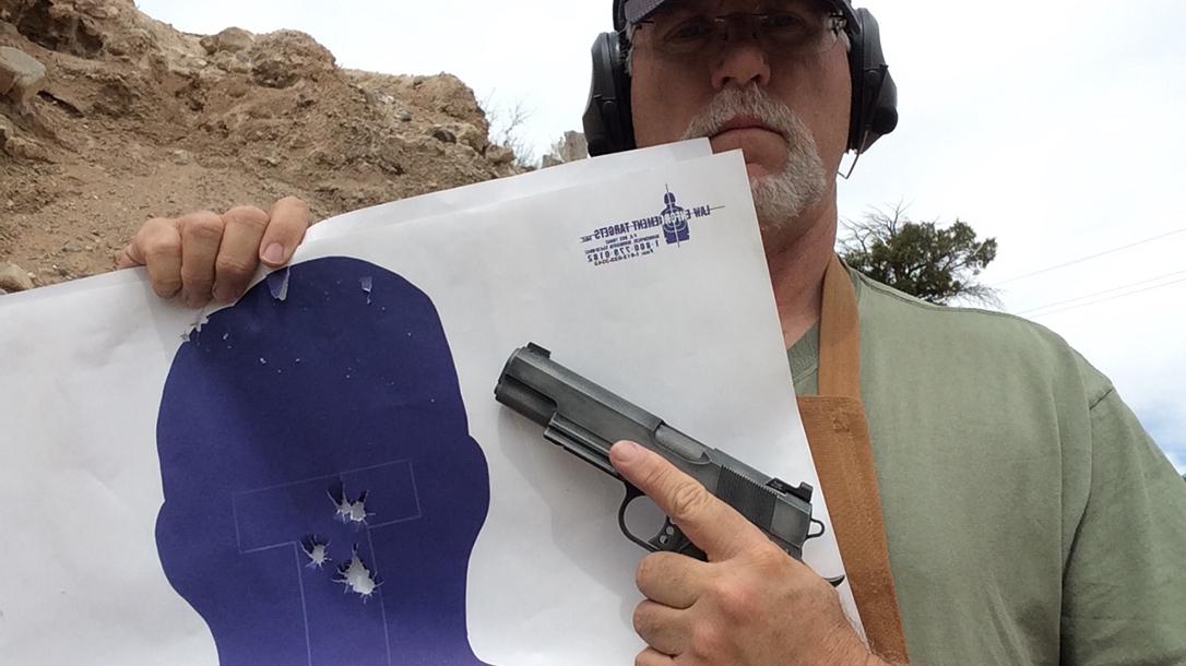 build a 1911 pistol target