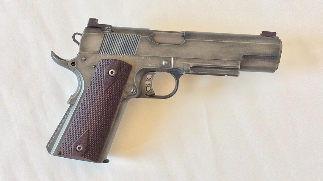 build a 1911 pistol right profile