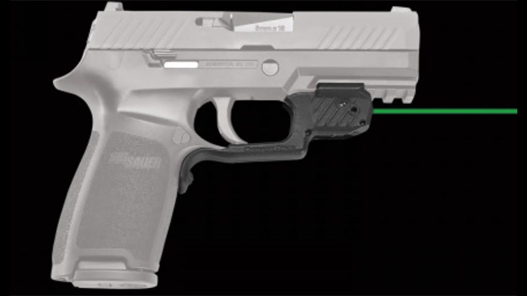 Crimson Trace LG-420g laserguard sig p320 right profile