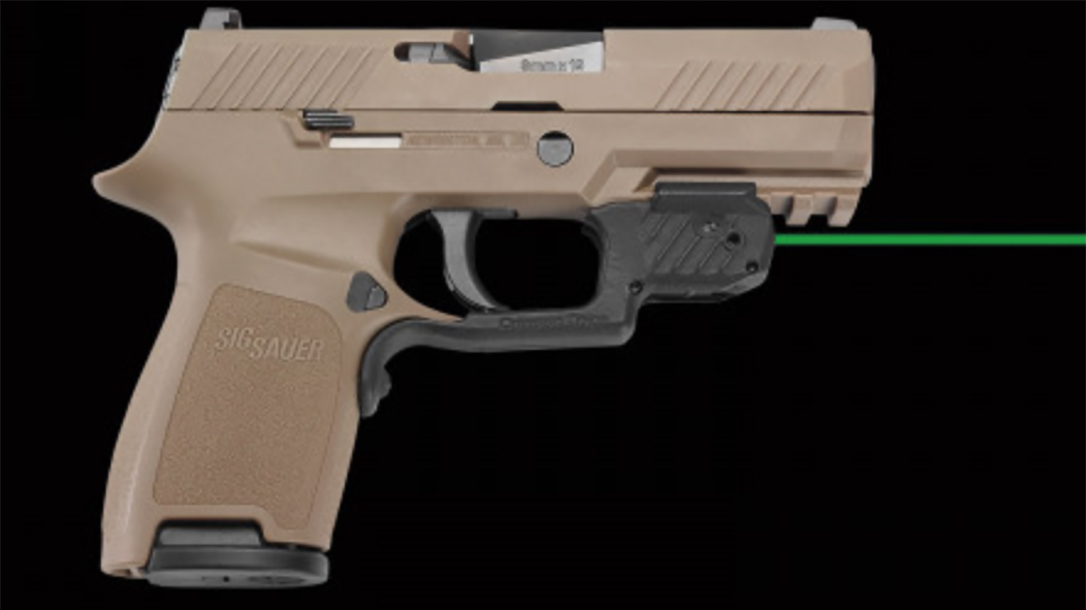 Crimson Trace LG-420g laserguard sig p320 m18 right profile