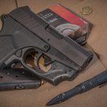crimson trace laserguard remington rm380 pistol angle