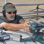 Freedom Arms Model 83 Premier Grade Predator revolver rest