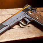 Iver Johnson Eagle XL pistol left profile