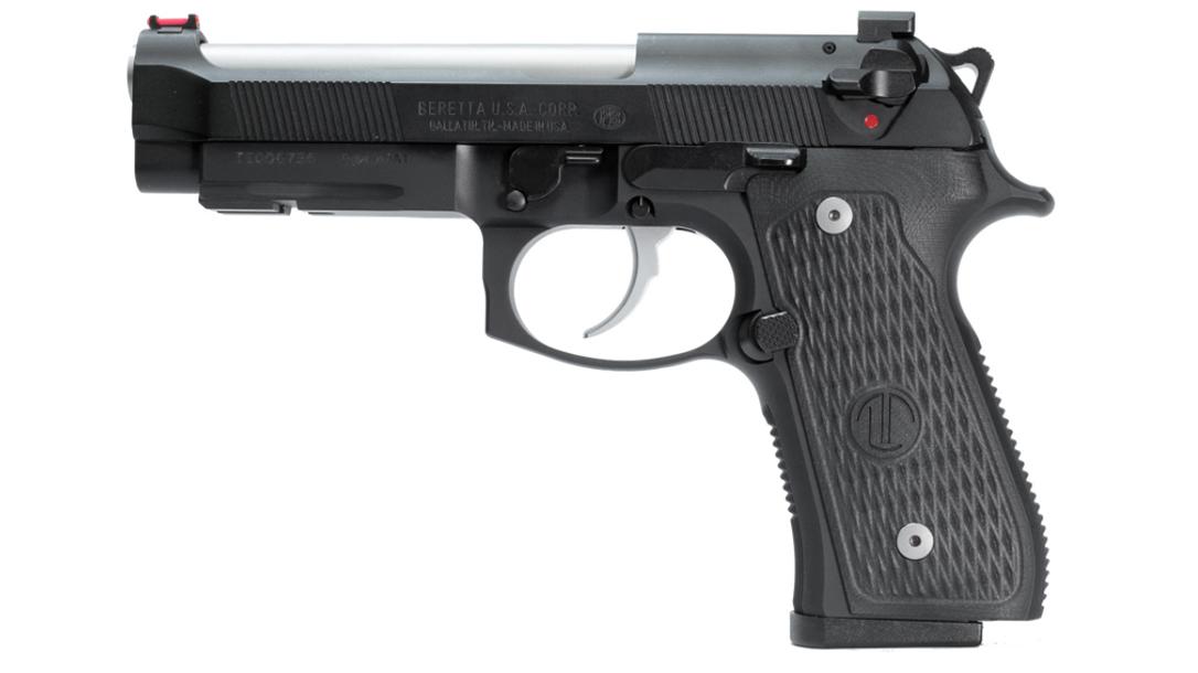 Langdon Tactical Beretta 92 Elite LTT pistol left profile