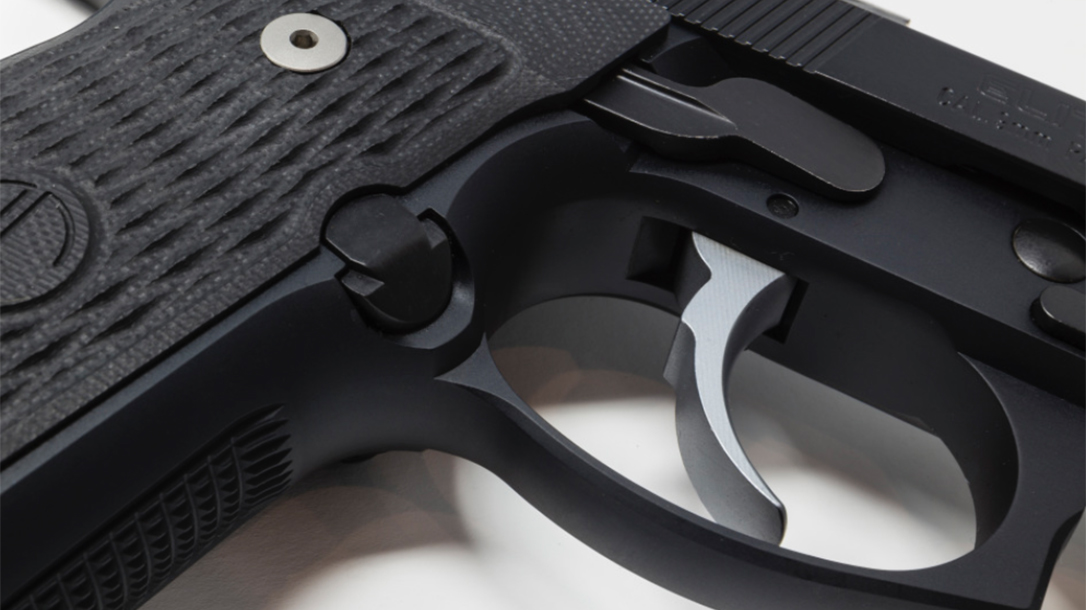 Langdon Tactical Beretta 92 Elite LTT pistol trigger