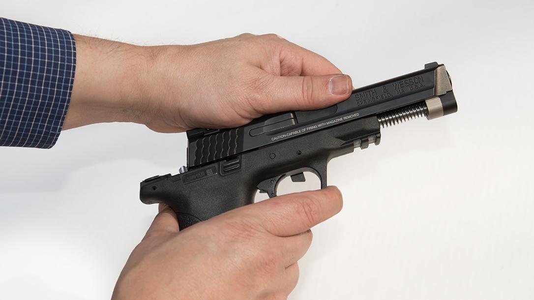 atei hybrid kit m&p9c pistol slide