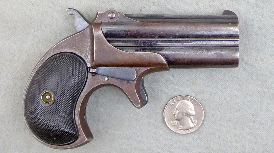 old west concealed weapons remington derringer