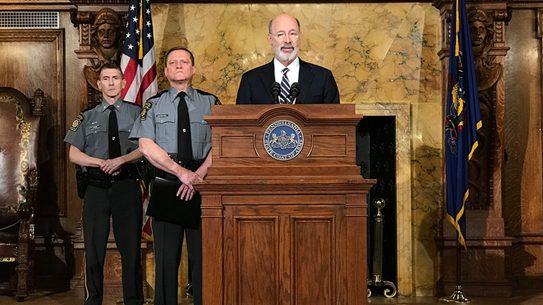 pennsylvania governor universal background checks announcement