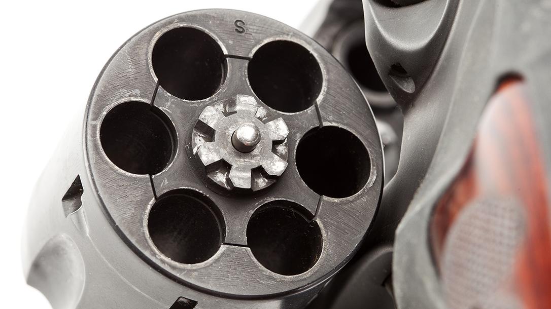 Wiley Clapp Ruger GP100 revolver cylinder