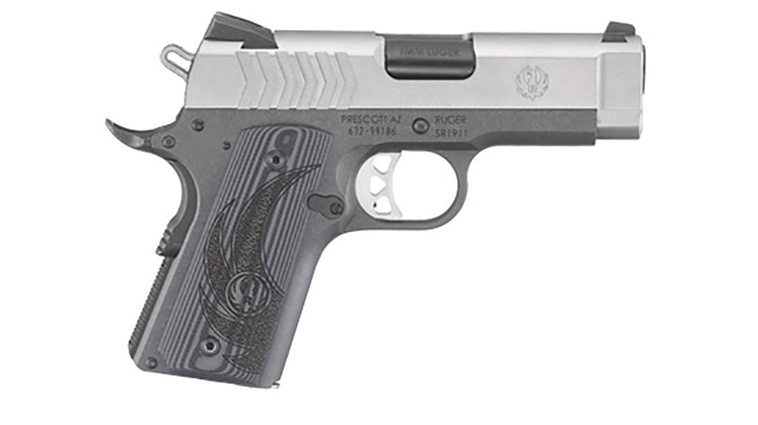 Ruger SR1911 Officer-Style pistol right profile