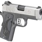 Ruger SR1911 Officer-Style pistol right angle