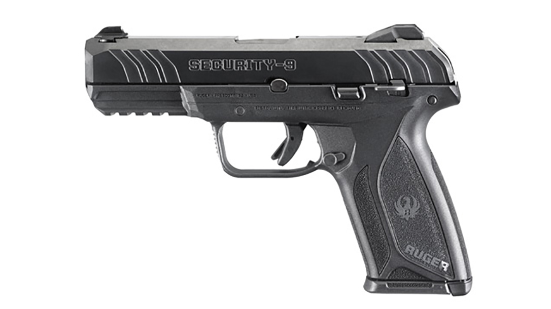 galco ruger security-9 pistol left profile