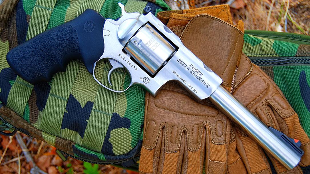 ruger super redhawk revolver right profile