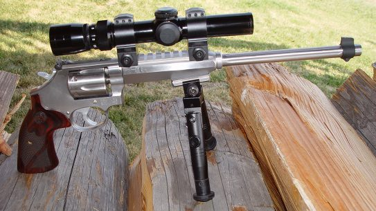 smith wesson model 647 varminter revolver right profile