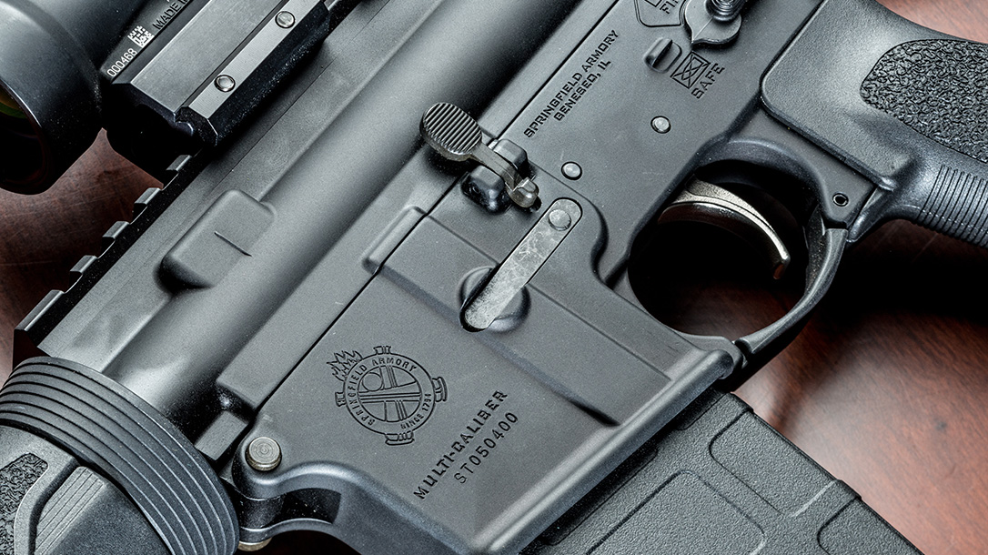 springfield saint rifle controls